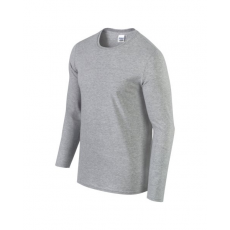 GILDAN hosszú ujjú Softstyle póló, sportszürke