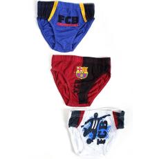 alsónadrág FC Barcelona - 3 db csomagban - méret: 2-3 év