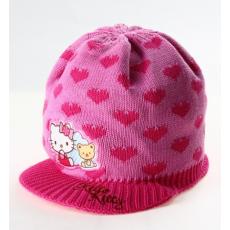 téli sapka HELLO KITTY - világos rózsaszín - méret 54