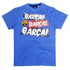 gyerek pólo FC BARCELONA - kék - méret: 110 - 116