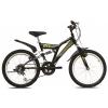 """Adria Rocky 20"""" összteleszkópos gyerek kerékpár fekete"""
