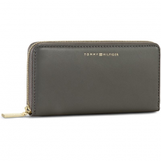Tommy Hilfiger Nagy női pénztárca TOMMY HILFIGER - Smooth Leather Large Z/A Wallet AW0AW03027 047
