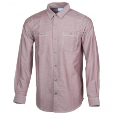 Columbia Stirling Trail Long Sleeve Shirt D (1681812-p_837-Deep Rust)