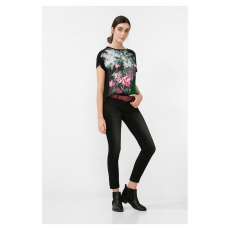 Desigual TS Georgia T-shirt,top D (67t24h4-p_4076-Jungle Green)
