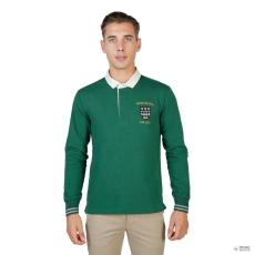 Oxford University férfi póló MAGDALEN-POLO-ML-zöld