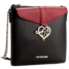 Love moschino Táska LOVE MOSCHINO - JC4236PP02KD100A Nero/Rosso