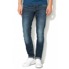 Jack Jones Jack Jones Sötétkék Slim Fit Farmernadrág, W36-L34 (12115779-BLUE-DENIM-W36-L34)