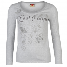 Lee Cooper Póló Lee Cooper Textured Scoop női