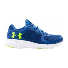 Under Armour W Thrill 2 Női futócipő, Kék/Lime, 40,5