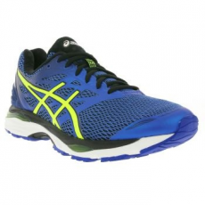 Asics Gel Cumulus 18 férfi sportcipő, Imperial/Safety Yellow, 42.5 (T6C3N-4507-9)