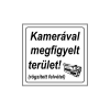 """GUNGL DEKOR MATRICA KAMERÁVAL MEGFIGYELT TERÜLET FEHÉR """"A"""""""