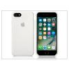 Apple iPhone 7 eredeti gyári szilikon hátlap - MMWF2ZM/A - white