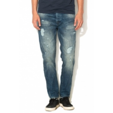Jack Jones Jack Jones Kék Anti-Fit Farmernadrág, W28-L32 (12110702-BLUE-DENIM-W28-L32)