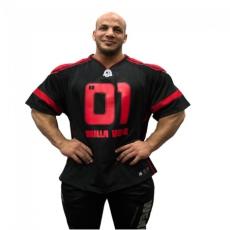 GW ATHLETE T-SHIRT BIG RAMY (BLACK/RED) [XXXXL]