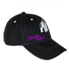 LADY LOGO CAP (BLACK/PURPLE) [Egy Méret]