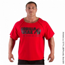 CLASSIC WORK OUT TOP (TANGO RED) [2XL/3XL]