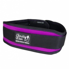 WOMENS LIFTING BELT (BLACK/PURPLE) [L]