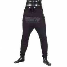 ALABAMA DROP CROTCH JOGGERS - BLACK (BLACK) [S]