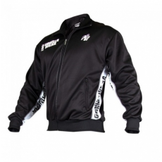 TRACK JACKET (BLACK/WHITE) [2XL/3XL]