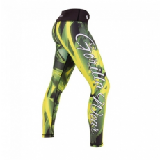 RENO TIGHTS (GREEN/YELLOW) [S]