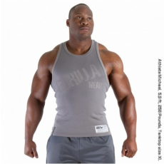 STAMINA  RIB TANK TOP (MEDIUM GREY) [XXL]