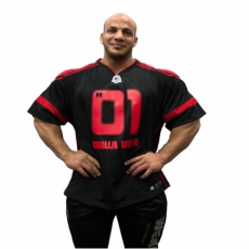 GW ATHLETE T-SHIRT BIG RAMY (BLACK/RED) [XXL]
