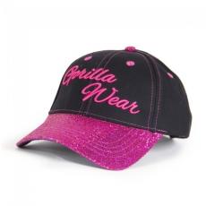 LOUISIANA GLITTER CAP - BLACK/PINK (BLACK/PINK) [Egy Méret]