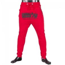 ALABAMA DROP CROTCH JOGGERS - RED (RED) [XL]
