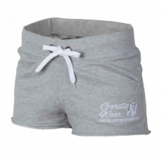 WOMEN'S NEW JERSEY SWEAT SHORT GREY (GRAY) [L]