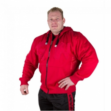 LOGO HOODED JACKET (TANGO RED) [XXXL]