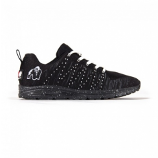 BROOKLYN KNITTED SNEAKERS - BLACK/WHITE (BLACK/WHITE) [38]