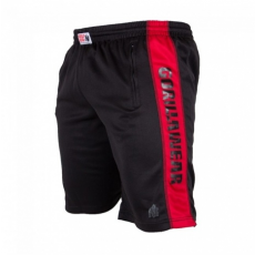 TRACK SHORTS (BLACK/RED) [2XL/3XL]