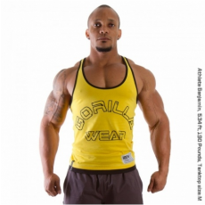 LOGO STRINGER TANK TOP (YELLOW) [XXL]