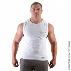 MUSCLE  S/L TEE (PURE WHITE) [S]