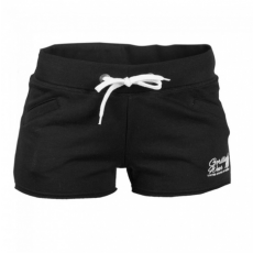 WOMEN'S NEW JERSEY SWEAT SHORT BLACK (BLACK) [L]