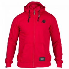 CLASSIC ZIPPED HOODIE RED (RED) [XXL]