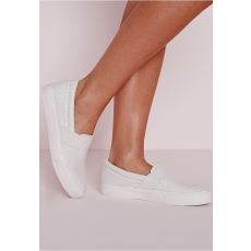 Missguided Cipő Croc Slip On Skater