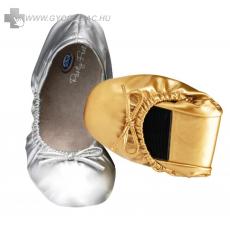 Scholl Pocket Balerina cipő ezüst színben 1 pár + 1pár ajándék!
