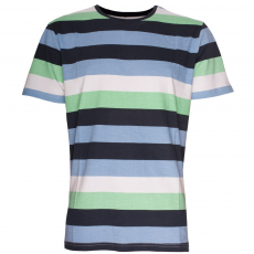 Fundango Atkins T-shirt D (1TK103_482-Navy Striped)