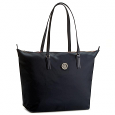 Tommy Hilfiger Táska TOMMY HILFIGER - Poppy Tote AW0AW03190 001