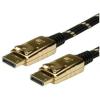 ROLINE Cable ROLINE DisplayPort Premium M/M 3.0m