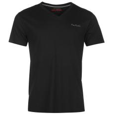 Pierre Cardin Cardin férfi V nyakú póló fekete S