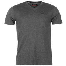 Pierre Cardin Cardin férfi V nyakú póló sötétszürke XL