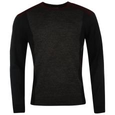 Pierre Cardin Panel férfi kötött pulóver sötétszürke 3XL