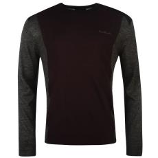Pierre Cardin Panel férfi kötött pulóver sötétszürke XL