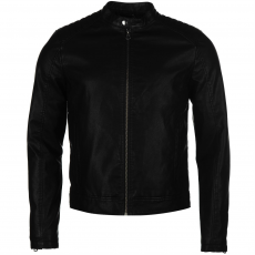Jack and Jones Kabát Jack and Jones Originals Biker PU fér.