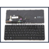 HP Elitebook 755 G1 trackpointtal (pointer) háttérvilágítással (backlit) fekete magyar (HU) laptop/notebook billentyűzet