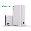 Nillkin Sony Xperia XZ (F8331) oldalra nyíló flipes tok - Nillkin Qin - fehér