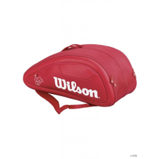 Wilson Unisex Tenisztáska FEDERER DNA 12 PACK RD
