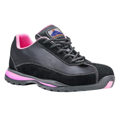 FW39 - Steelite női félcipő S1P - fekete/pink (36)